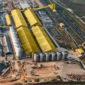 Будівництво терміналу MV Cargo на Одещині