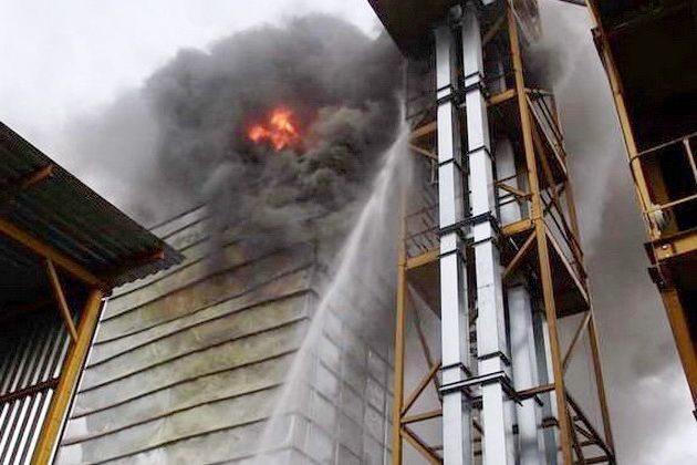 Основні причини пожеж на елеваторах
