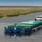 Аграрії переходять на річковий та автомобільний транспорт
