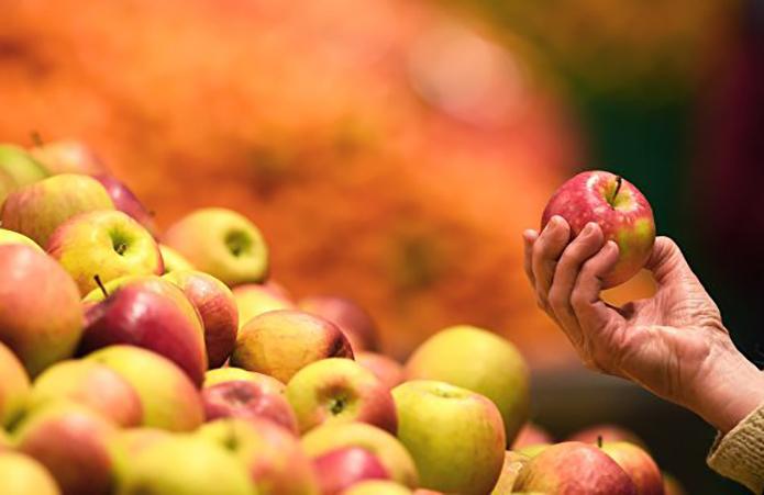 Ціна яблук в Україні тримається на максимумі за три роки