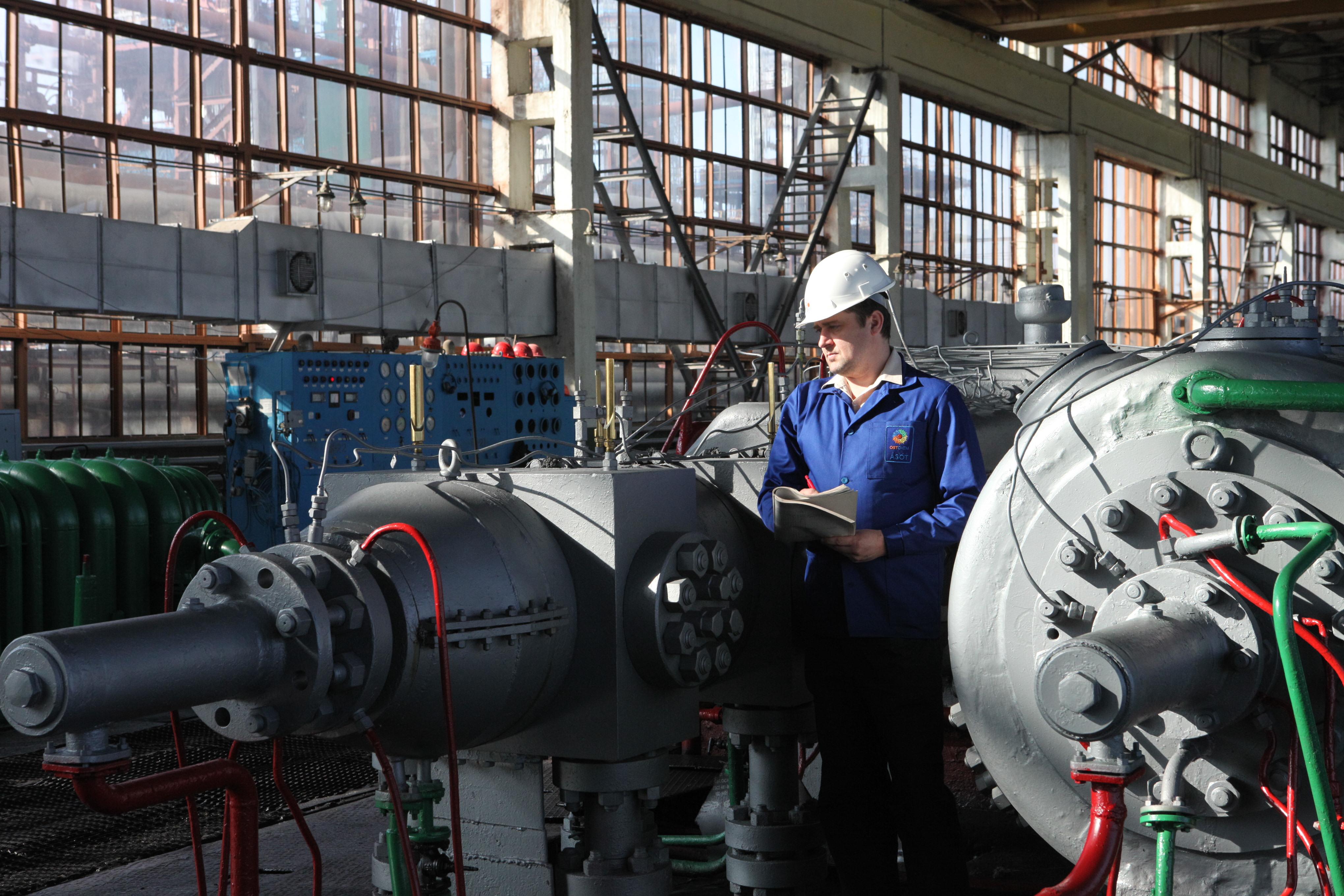 На «Рівнеазоті» завершено модернізацію цеху з виробництва неконцентрованої азотної кислоти
