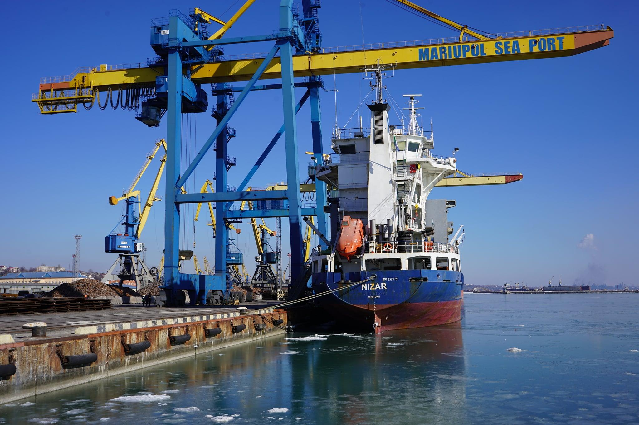 У лютому Маріупольський порт перевиконав план вантажоперевалки на 27,8%