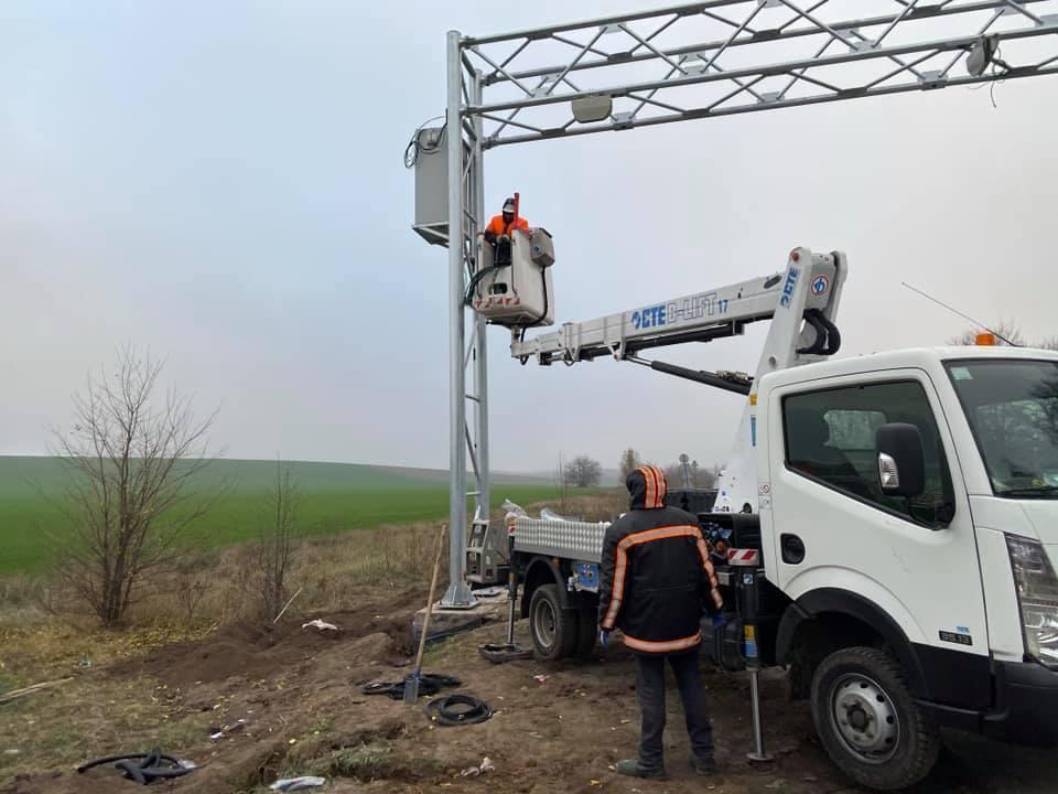 Мінінфраструктури вводить в експлуатацію комплекси автоматичного габаритно-вагового контролю