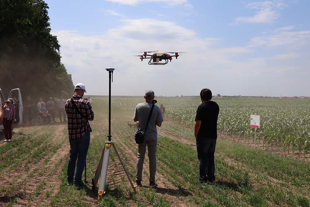 На полігоні Digital Field презентували ефективні технології захисту рослин