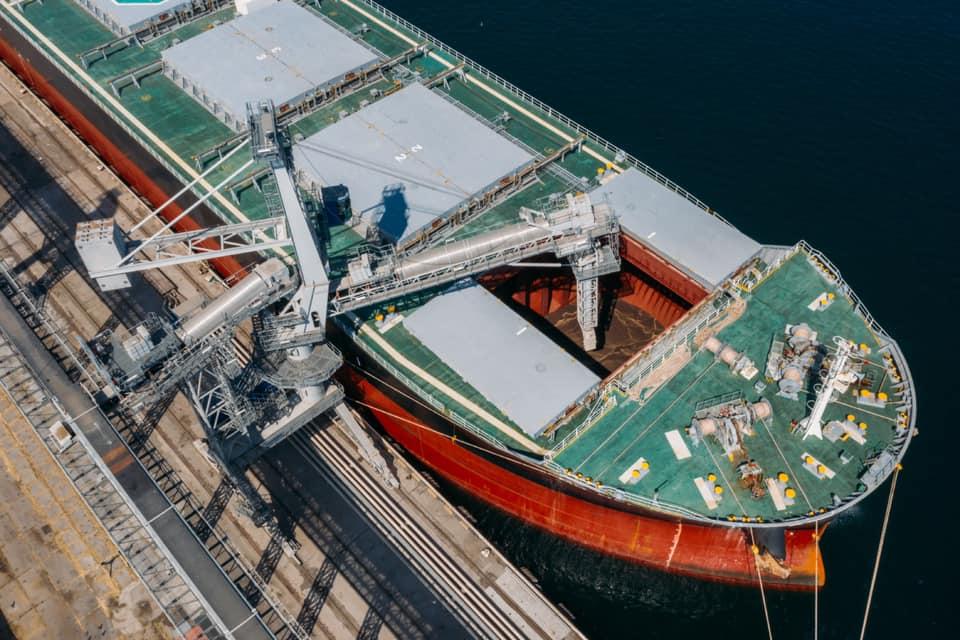 «Рисоіл Термінал» перевалив понад мільйон тонн зернових з початку сезону