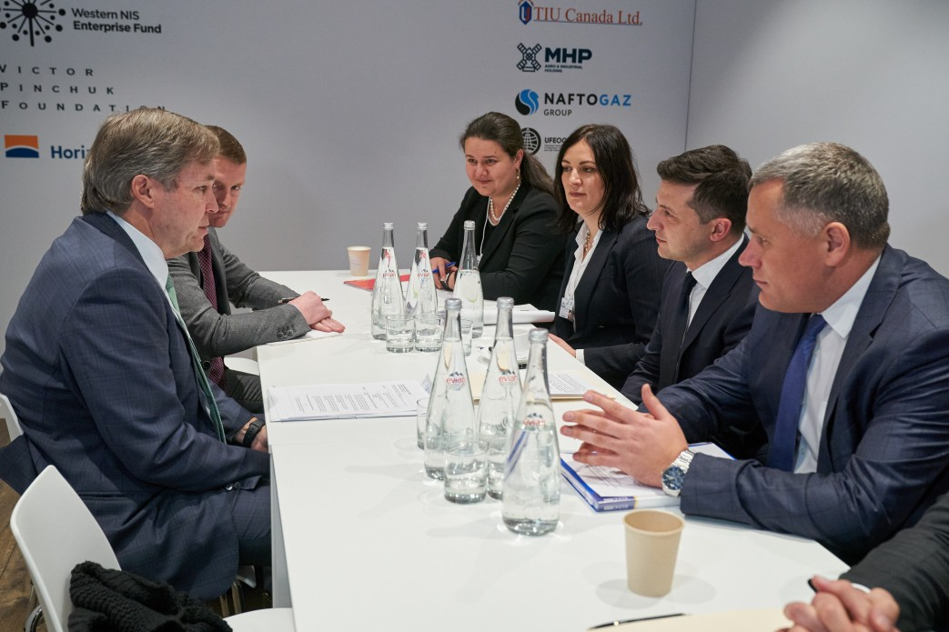 Зеленський обговорив з головою Cargill Inc. ринок землі та реформу залізниці