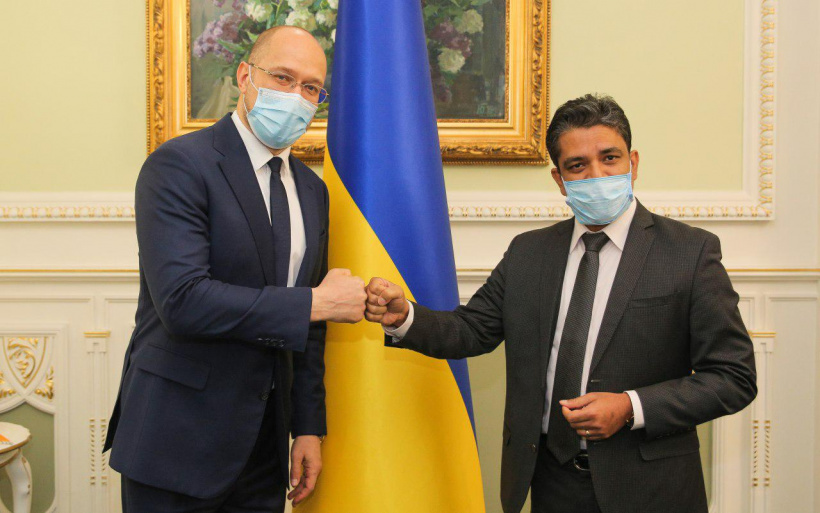 Україна готова нарощувати обсяги експорту харчової та агропродукції до Індії — Шмигаль