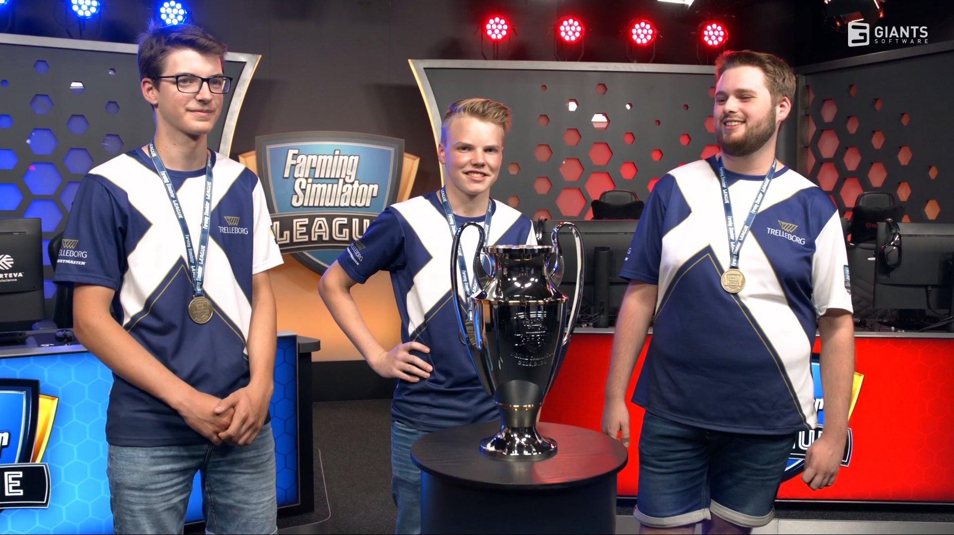 Команда Trelleborg виграла фінал ліги Farming Simulator, що спонсорується Corteva