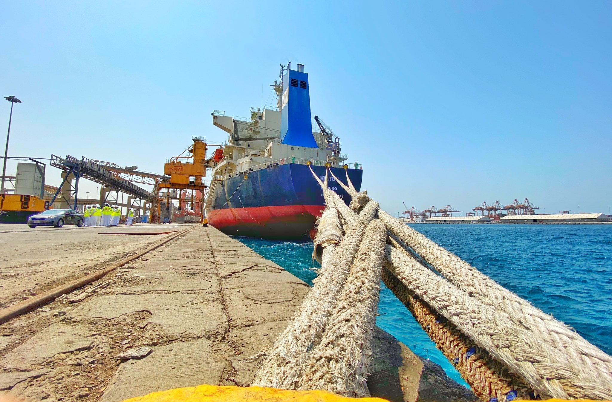 В Саудівську Аравію вперше за 12 років прибуло судно з пшеницею із України