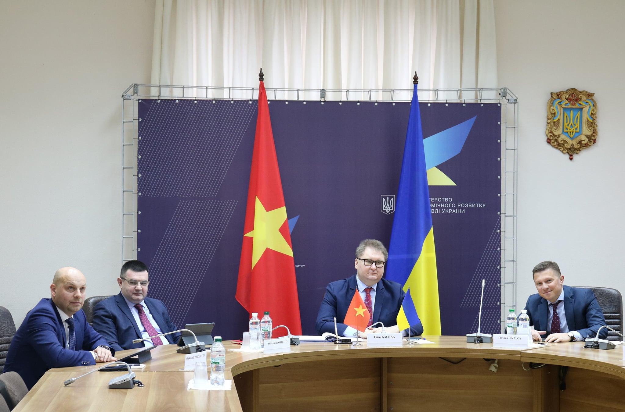 Україна та В'єтнам відновлять роботу над Угодою про вільну торгівлю
