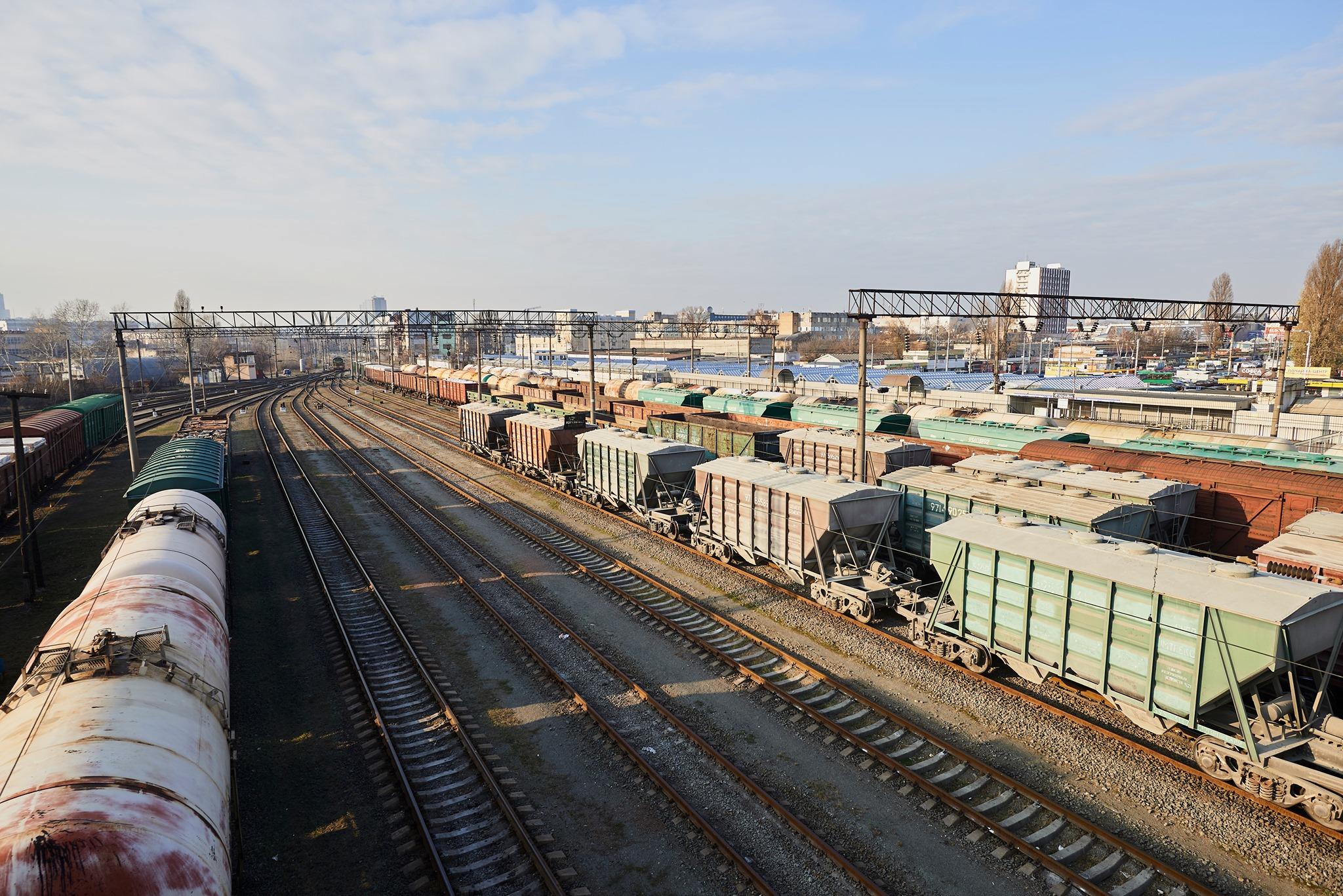 «Укрзалізниця» нарощує показники вантажної роботи