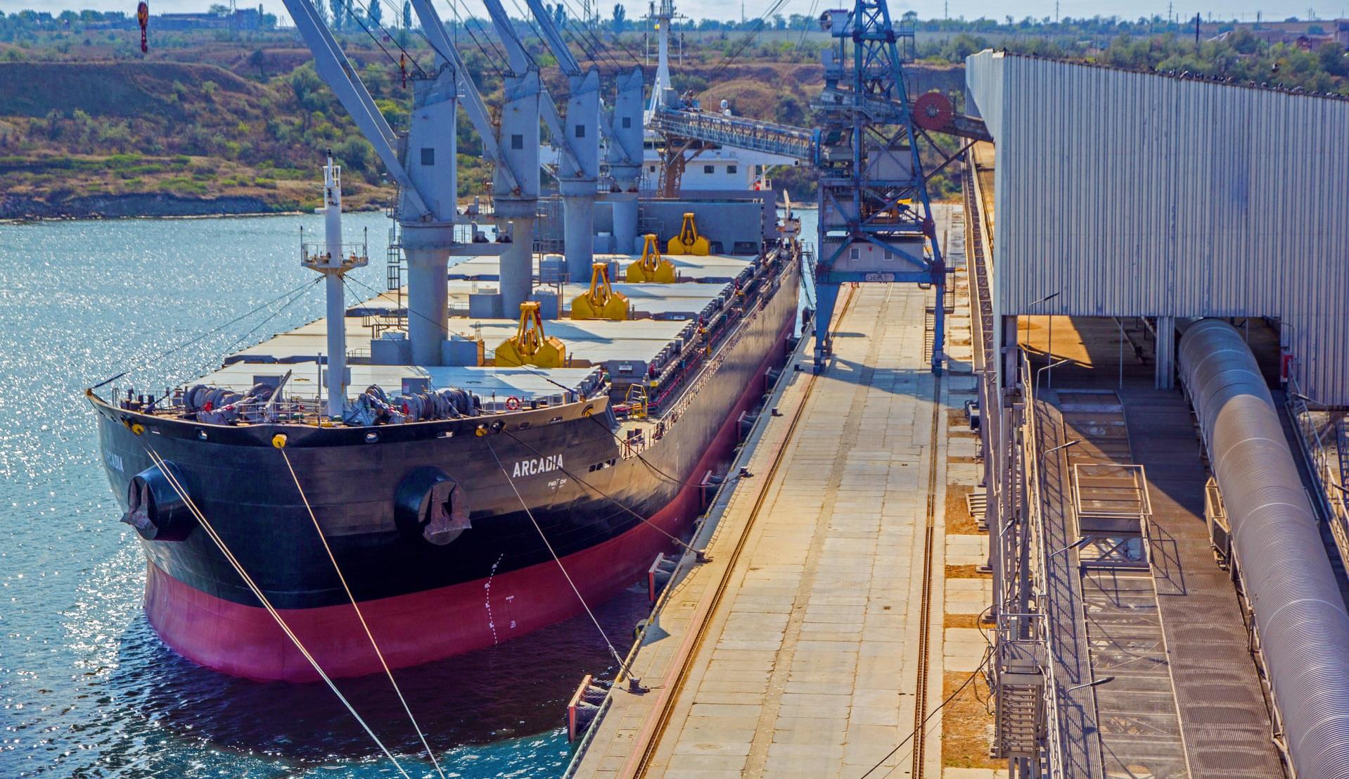 Зерновий термінал Neptune з початку роботи обробив 6 млн тонн вантажів