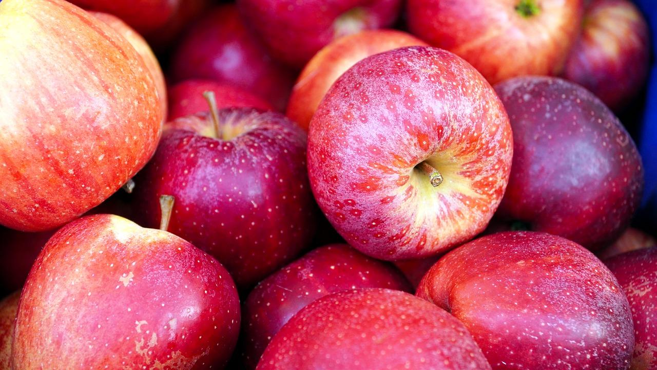 Вартість яблук опустилися до трирічного мінімуму