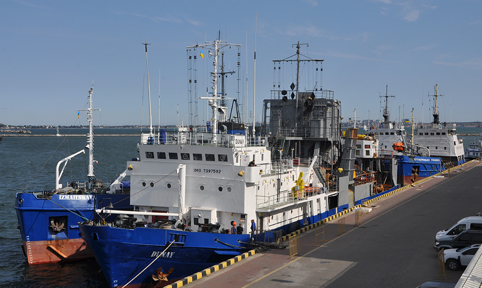 В Одеському порту розпочато днопоглиблення акваторії