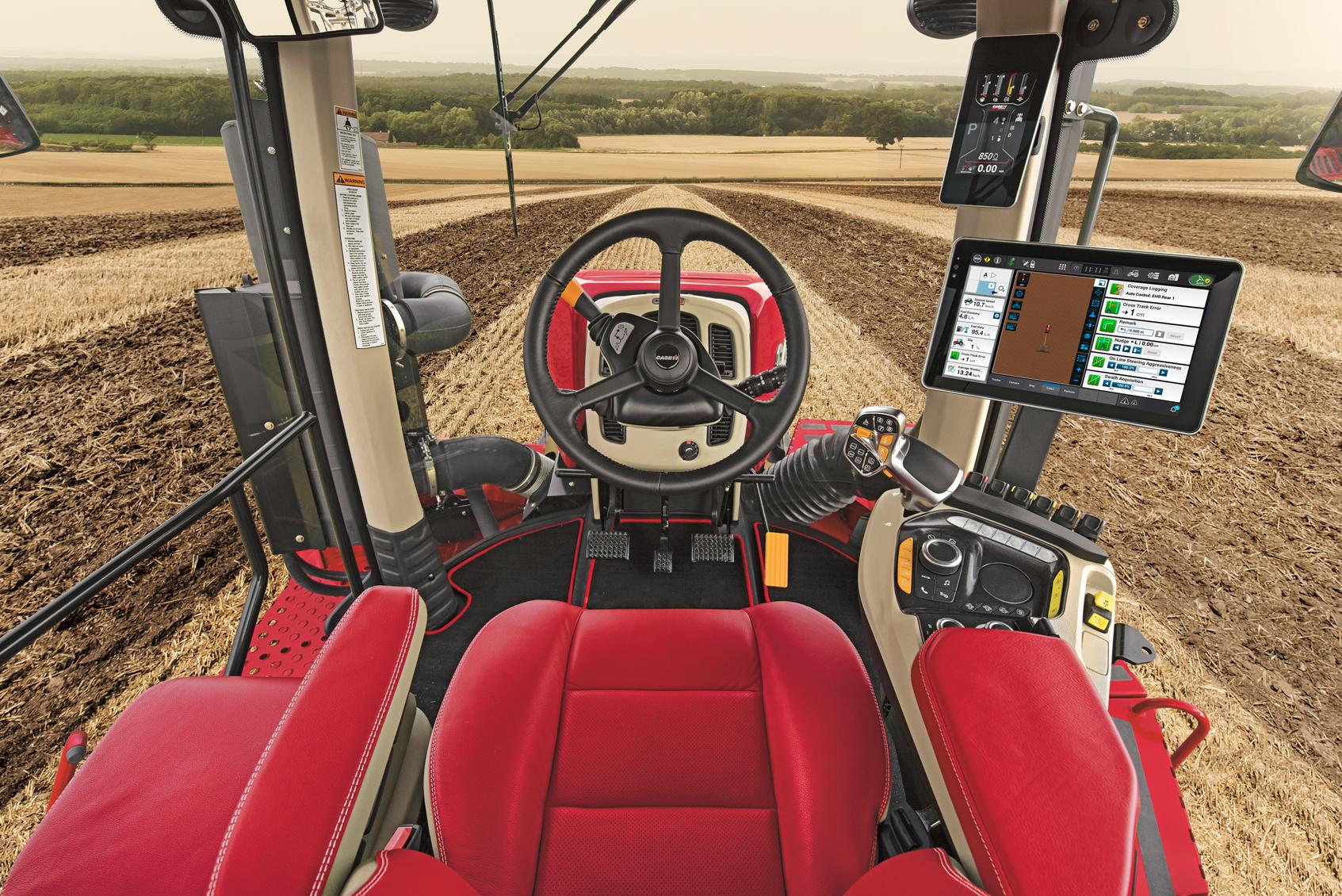 Case IH облаштувала серію тракторів новими кабінами та можливістю передачі даних