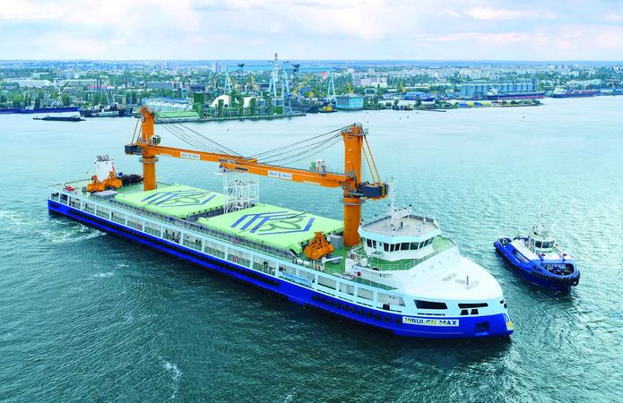 NIBULON MAX відвантажив на експорт 3,5 млн т сільгосппродукції