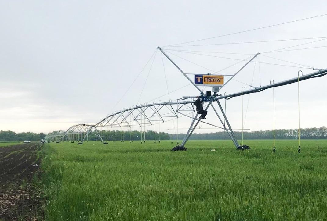 «Фрегат» може забезпечити дощувальними машинами всі поля в зонах ризикованого землеробства