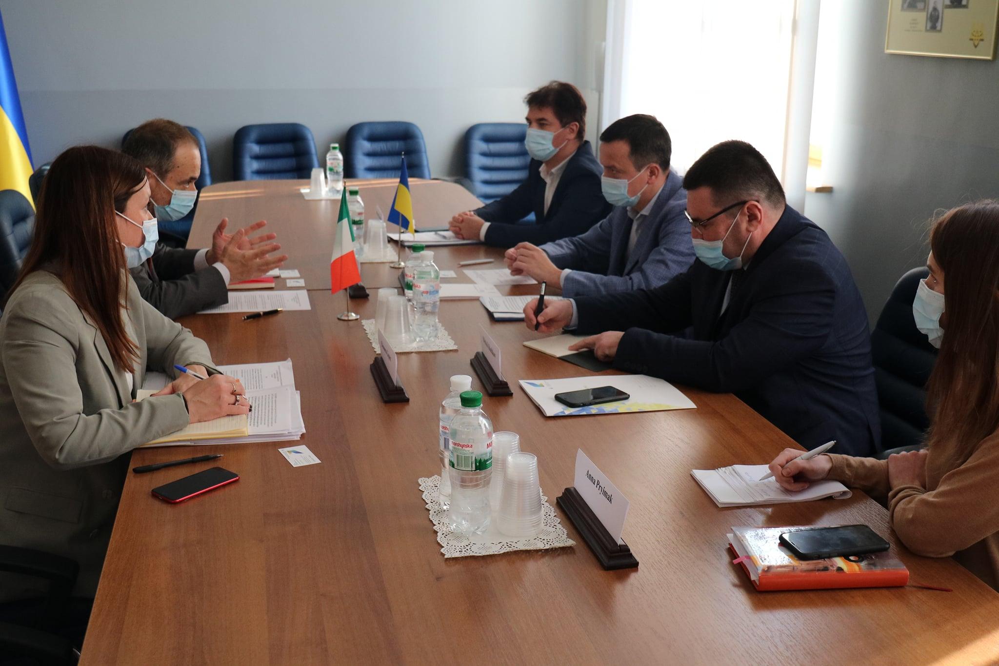 Україна та Італія розширять перспективи для реалізації нових інвестиційних проектів